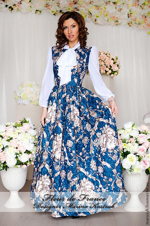 Платья ручной работы. Ярмарка Мастеров - ручная работа. Купить Платье МАРТА. Handmade. Тёмно-синий, платье коктейльное