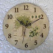"""Для дома и интерьера ручной работы. Ярмарка Мастеров - ручная работа Часы """"Olives"""". Handmade."""