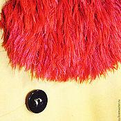 """Аксессуары ручной работы. Ярмарка Мастеров - ручная работа """"Шелковый мех"""" вязаный шарф. Handmade."""