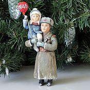 Сувениры и подарки handmade. Livemaster - original item Cotton Christmas toy Soldiers of Victory. Handmade.