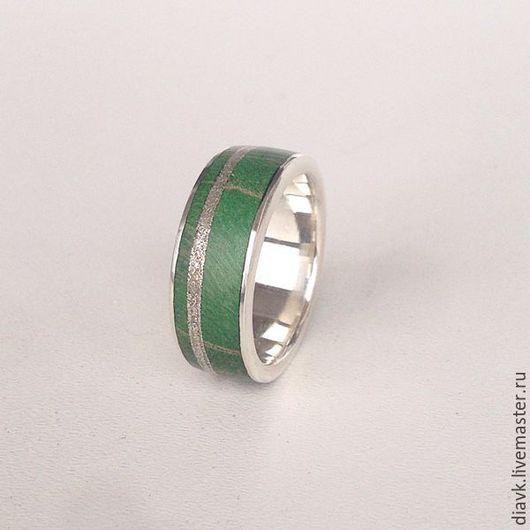 """Кольца ручной работы. Ярмарка Мастеров - ручная работа. Купить """"Весенний лист №3"""", серебряное кольцо с деревом. Handmade. Кольцо"""