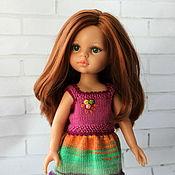 Куклы и игрушки ручной работы. Ярмарка Мастеров - ручная работа Топик с юбочкой для куклы. Handmade.