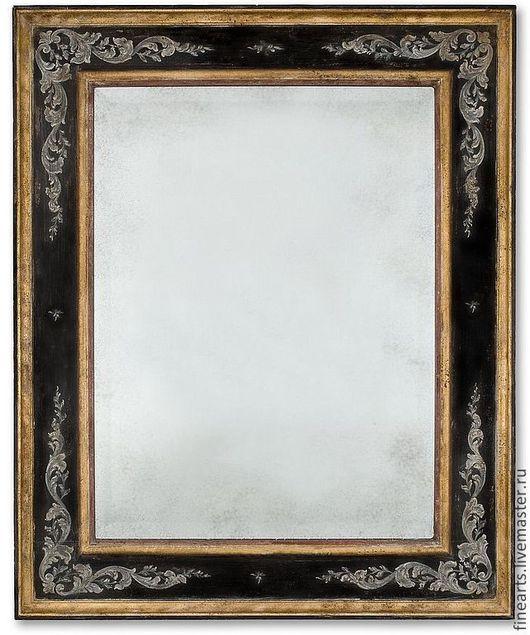 """Зеркала ручной работы. Ярмарка Мастеров - ручная работа. Купить Зеркало в раме """" Классика """" ручной работы. Handmade."""