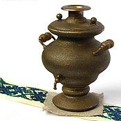 Куклы и игрушки handmade. Livemaster - original item Samovar Bronze tubby Dollhouse miniature. Handmade.