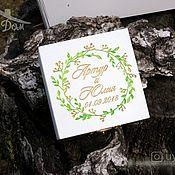 Свадебный салон handmade. Livemaster - original item Box for wedding rings