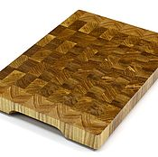 Для дома и интерьера handmade. Livemaster - original item End cutting Board №117. Handmade.
