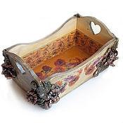 Для дома и интерьера handmade. Livemaster - original item Box basket vintage
