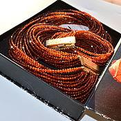 Украшения handmade. Livemaster - original item Garnet Spessartine Necklace ORANGE MOOD Author`s necklace. Handmade.