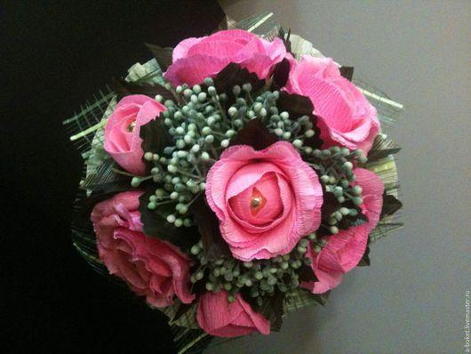 Кулинарные сувениры ручной работы. Ярмарка Мастеров - ручная работа. Купить Розовые розы. Handmade. Розовый, подарок подруге