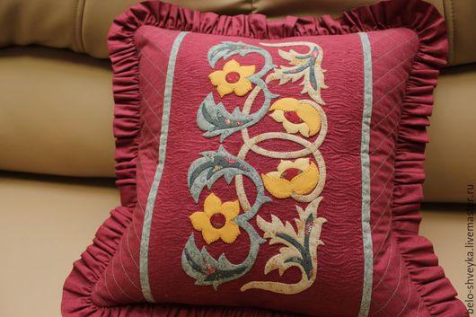 Текстиль, ковры ручной работы. Ярмарка Мастеров - ручная работа. Купить Подушка N3. Handmade. Подарок, интерьер