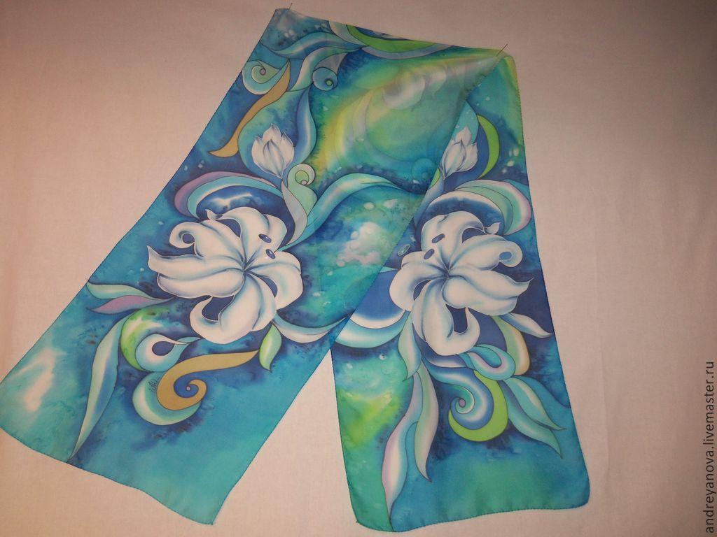 Картинки шарфы для батика