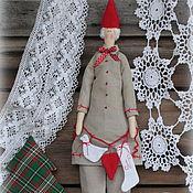 Куклы и игрушки ручной работы. Ярмарка Мастеров - ручная работа Тильда Молодой Санта. Handmade.