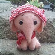 Куклы и игрушки ручной работы. Ярмарка Мастеров - ручная работа Слоня. Handmade.