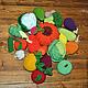 """Развивающие игрушки ручной работы. Ярмарка Мастеров - ручная работа. Купить Вязаные игрушки """" Во саду ли, в огороде"""". Handmade."""