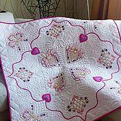 Для дома и интерьера handmade. Livemaster - original item Bedspread-blanket for children
