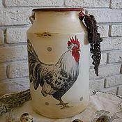 Для дома и интерьера ручной работы. Ярмарка Мастеров - ручная работа бидон. Handmade.