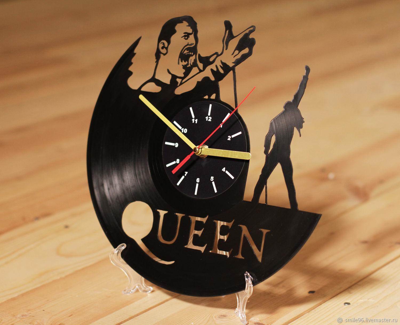 "Часы из пластинки ""Queen"", Часы из виниловых пластинок, Екатеринбург,  Фото №1"