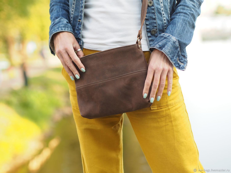 Malta.  Small leather crossbody handbag, Crossbody bag, St. Petersburg,  Фото №1