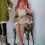 Куклы и игрушки ручной работы. Ярмарка Мастеров - ручная работа Лиза,шарнирная кукла.(продана). Handmade.