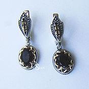 Украшения handmade. Livemaster - original item Earrings ladies whim with rauchtopaz. Handmade.