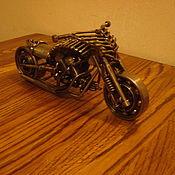 Для дома и интерьера ручной работы. Ярмарка Мастеров - ручная работа Мотоциклы в стиле стимпанк.. Handmade.