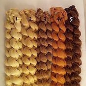 Материалы для творчества ручной работы. Ярмарка Мастеров - ручная работа Волосы жгуты 25см. Handmade.