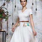 """Одежда ручной работы. Ярмарка Мастеров - ручная работа Платье """"Круиз"""" + пояс в подарок. Handmade."""