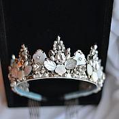 Украшения handmade. Livemaster - original item A crown of pearls and mother of pearl. Handmade.
