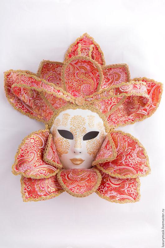 """Интерьерные  маски ручной работы. Ярмарка Мастеров - ручная работа. Купить Интерьерная венецианская маска """" Dame de Coeur """". Handmade."""