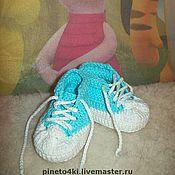 Работы для детей, ручной работы. Ярмарка Мастеров - ручная работа Пинетки. Handmade.