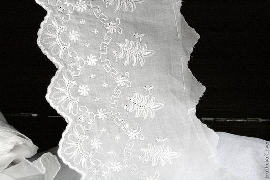 Шитье ручной работы. Ярмарка Мастеров - ручная работа. Купить № 26 Кружевное шитье.. Handmade. Молочный цвет