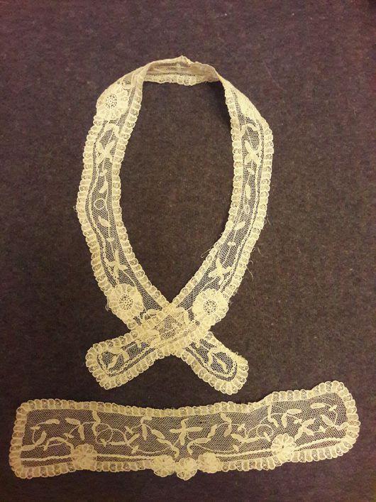 Одежда. Ярмарка Мастеров - ручная работа. Купить Кружевной наборчик из двух предметов. Handmade. Кружево для отделки, антик
