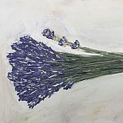 Подарки к праздникам handmade. Livemaster - original item Lavender oil painting on canvas buy cheap in Minsk interior. Handmade.
