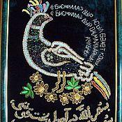 """Картины и панно ручной работы. Ярмарка Мастеров - ручная работа Шамаиль """"Райская птица"""" большой. Handmade."""