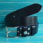 Аксессуары handmade. Livemaster - original item Leather belt female Indigital.. Handmade.