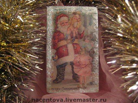"""Мыло ручной работы. Ярмарка Мастеров - ручная работа. Купить Мыло """"Новогоднее №1"""". Handmade."""