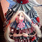 Куклы и игрушки ручной работы. Ярмарка Мастеров - ручная работа Елка с леденцом. Handmade.