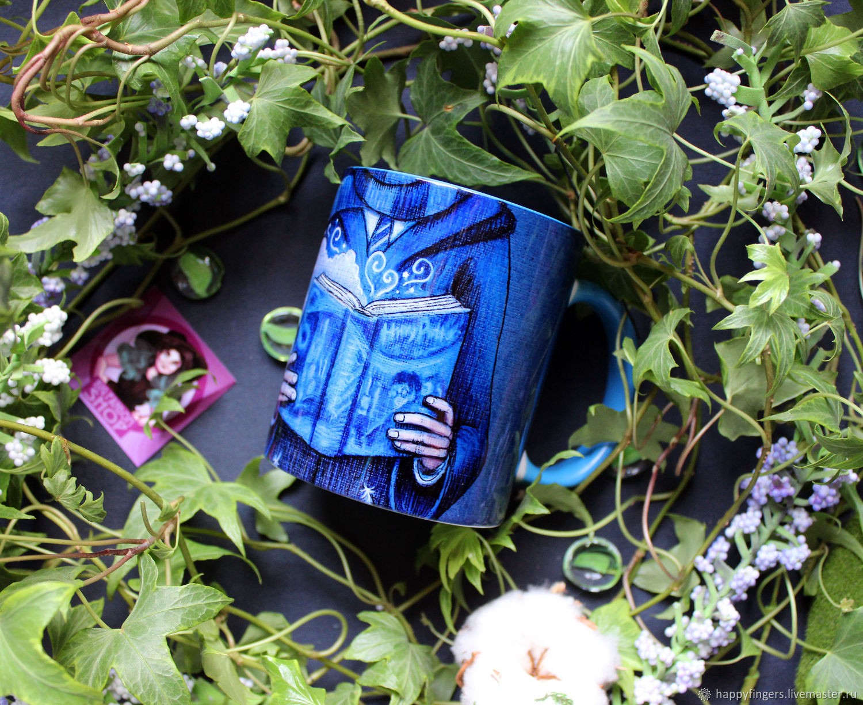 Mug author 'Ravenclaw' Harry Potter Harry Potter blue, Mugs and cups, Elektrostal,  Фото №1