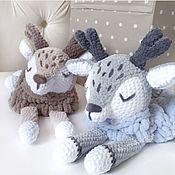 Мягкие игрушки ручной работы. Ярмарка Мастеров - ручная работа Мягкие игрушки: пижамница олененок. Handmade.