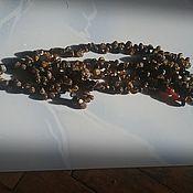 Колье ручной работы. Ярмарка Мастеров - ручная работа Бусы янтарь натуральный. Handmade.