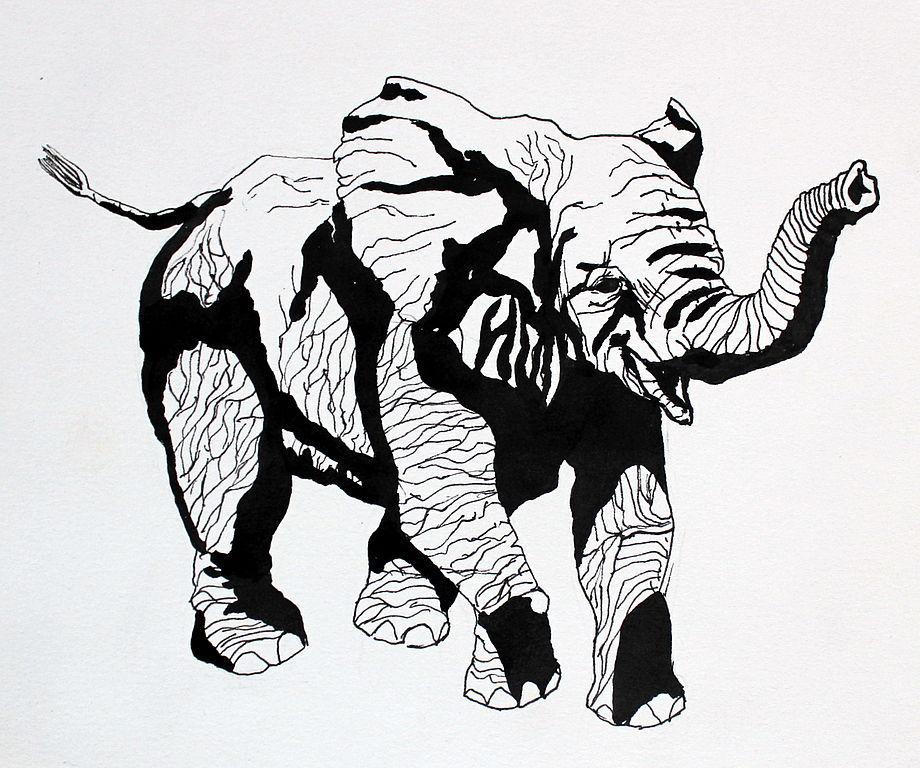 Animal Painting Handmade Livemaster