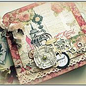 Канцелярские товары ручной работы. Ярмарка Мастеров - ручная работа Альбом для леди. Handmade.