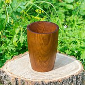Посуда handmade. Livemaster - original item A large glass stand for the blades and spoons are made of Siberian pine C5. Handmade.