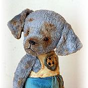 Куклы и игрушки ручной работы. Ярмарка Мастеров - ручная работа Собачка Дэн). Handmade.
