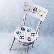 """Для дома и интерьера handmade. Livemaster - original item Венский стул """"Музыка"""". Handmade."""