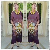 Одежда ручной работы. Ярмарка Мастеров - ручная работа Платье-футболка. Handmade.