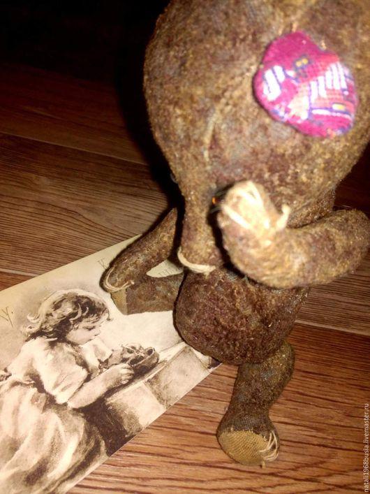 Мишка Тедди. Старенькая мишка. Винтаж.