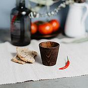 Посуда handmade. Livemaster - original item Glass wooden Textured Siberian Pine #R10. Handmade.