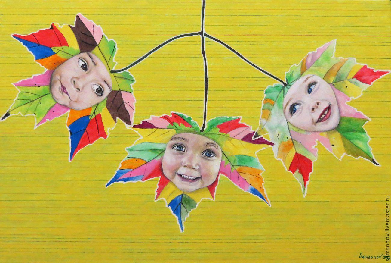 Painting acrylic Trio Mood, Pictures, Kiev,  Фото №1