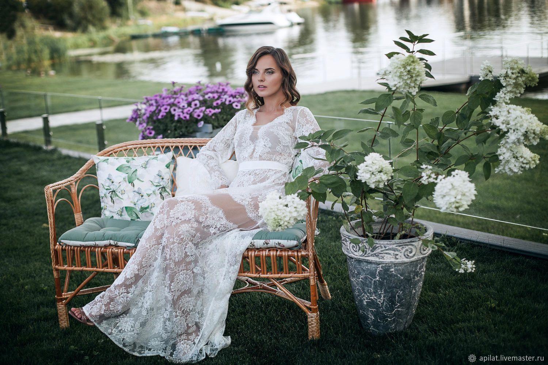 b1c50866895 Buy Long Lace Bridal Nightgown F18